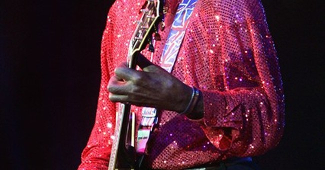 The Latest: Family and friends pack service for Chuck Berry