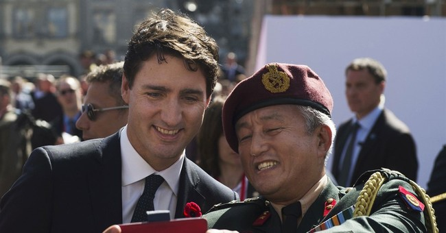 Canada PM Trudeau visits Juno Beach, site of D-Day landings