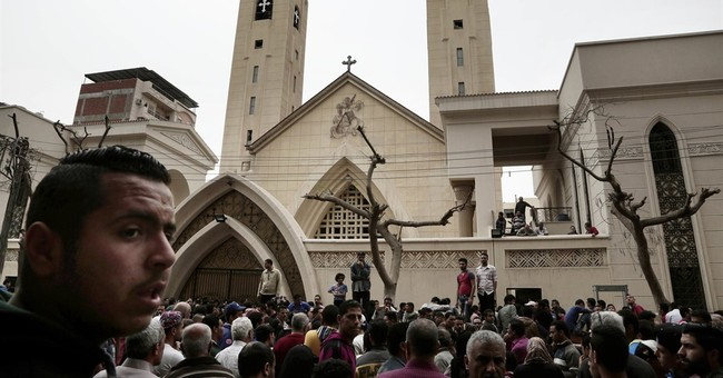 The Latest: Germany urges Egyptian religious solidarity