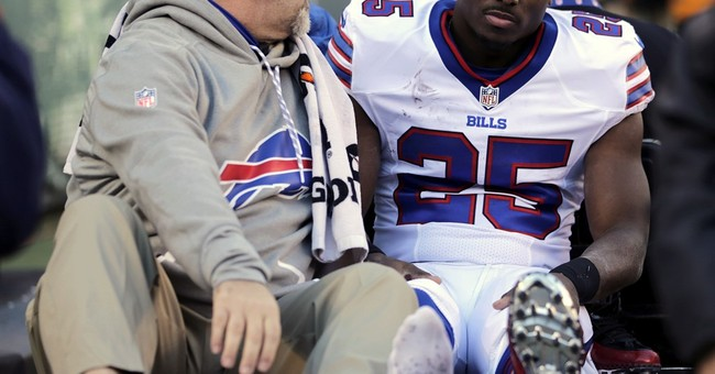 This Bills Player Did Something More Disrespectful than Kneel During the Anthem