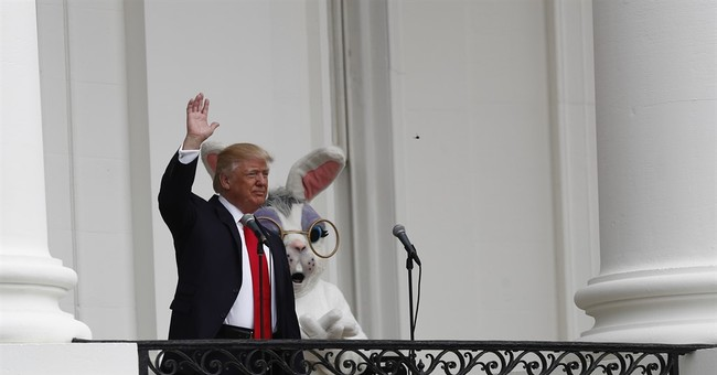 Twitter Had Jokes About The Hilariously Creepy Easter Bunny At The White House