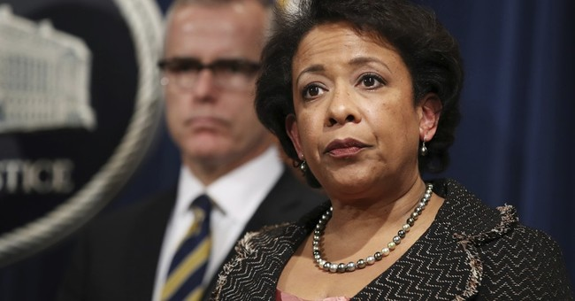 Loretta Lynch Triples Down on Secret Tarmac Meeting: Bill Just Wanted to Come Say Hello!