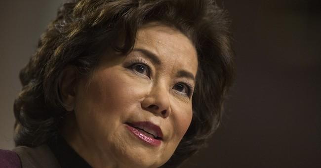 Elaine Chao Sworn In As Transportation Secretary