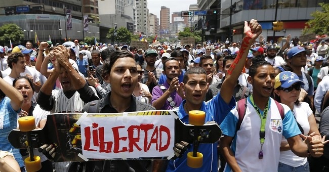 Rachel Maddow Blamed Venezuelan Protests On...Trump, Obviously