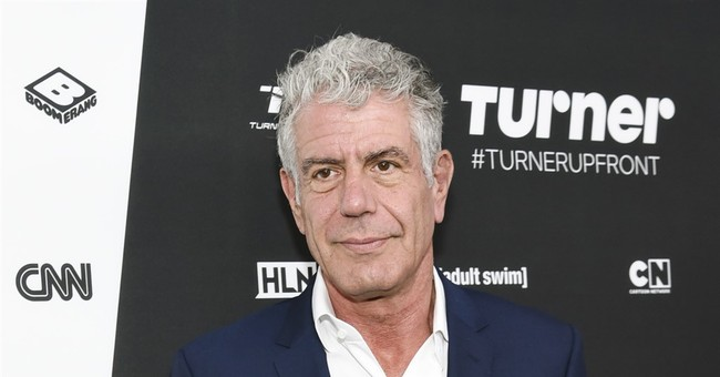 "Anthony Bourdain ""Jokes"" About Poisoning President Trump"