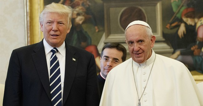 President Trump and Pope Francis Meet, Express Hope For Peace