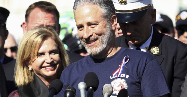 Jon Stewart Sounds Off on Capitol Hill: It's 'Bulls***' We Have to Drag 9/11 First Responders Here