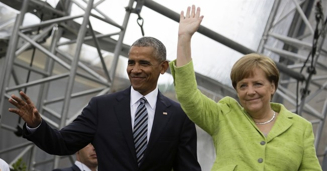 Obama, Merkel Weigh in On 'Walls'
