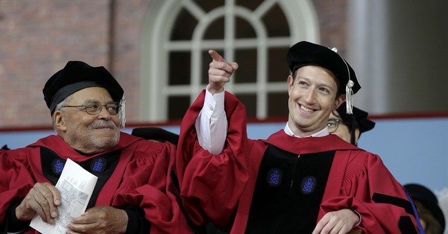 Mark Zuckerberg Returns To College - Sort Of