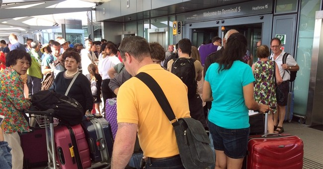 """Total Chaos"" at London Airports After British Airways is Forced to Cancel All Flights"