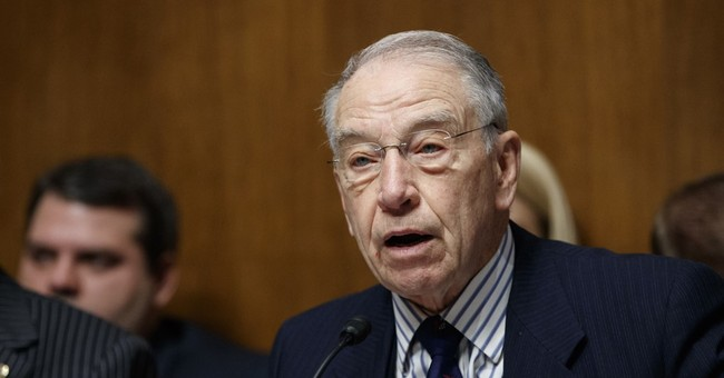 Sen. Grassley: On Many Campuses Free Speech Is Sacrificed at the Altar of Political Correctness