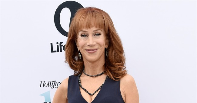 Kathy Griffin Apologizes for Gruesome Trump Photo but Backlash Builds