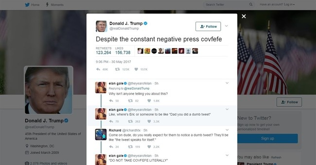 "Representative Introduces The ""COVFEFE Act"" In Congress"