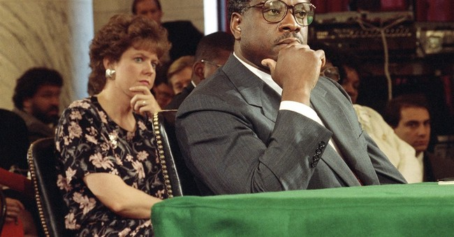 Reminder: Americans Believed Clarence Thomas on Anita Hill's Uncorroborated Allegations For Good Reason