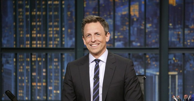 Seth Meyers Roasts Hillary Clinton For Blaming Bernie Sanders in New Book