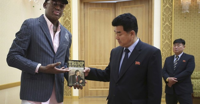 Dennis Rodman Gave Kim Jong Un a Copy of 'The Art of the Deal'
