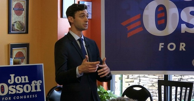 Ossoff Flip-Flops on Movement to 'Defund the Police' as Senate Race Heats Up