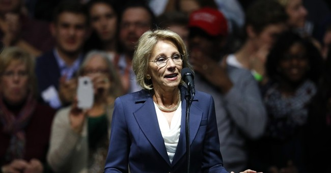 Senate Republicans To Set In Motion DeVos' Confirmation Vote Early Friday Morning