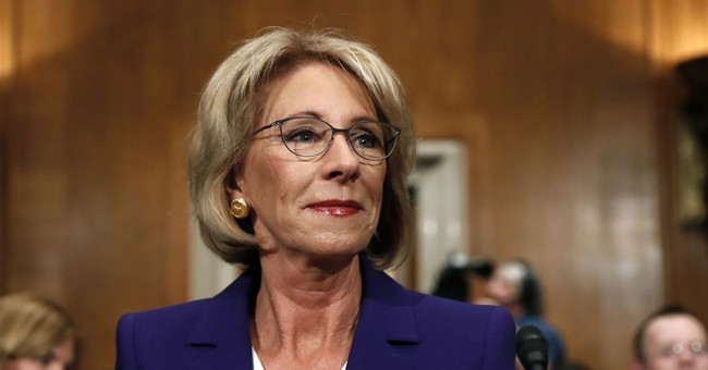 DeVos One Step Closer to Senate Confirmation