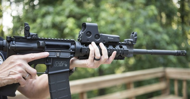 Oh Boy: The AR-15 Is The Tool Of Evil Again