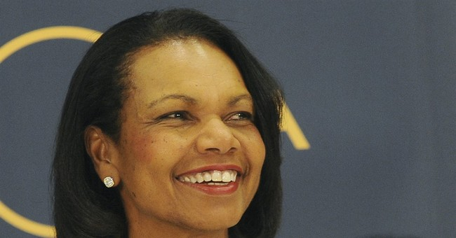 Condi Rice to Her Students: 'It's Not My Job to Make You Comfortable'