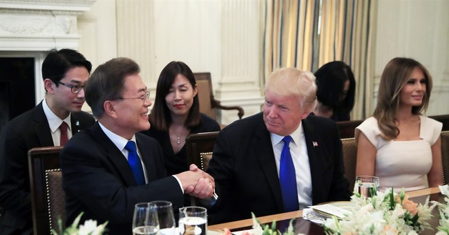 WATCH: President Trump Gives Joint Statements with President Moon