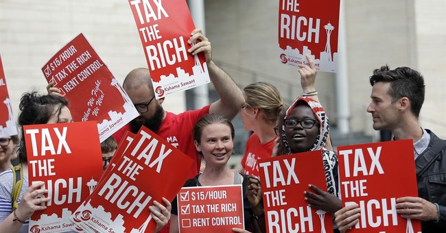 'Fair Share'? Budget Director Says Top 20 Percent of Earners Pay 95 Percent of All Federal Income Taxes