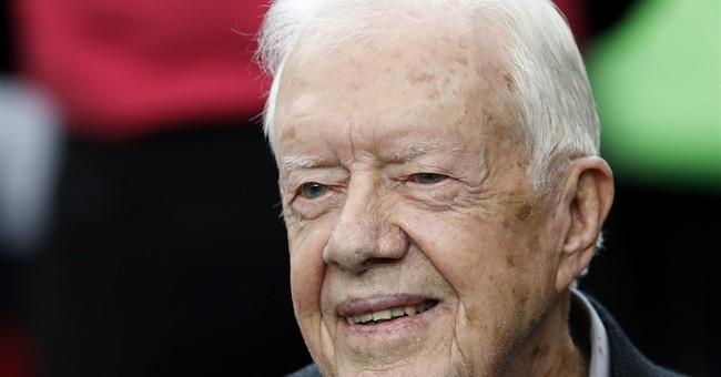 Former Pres. Jimmy Carter OK after collapsing from dehydration