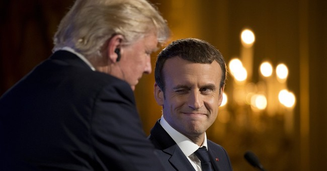 Macron: My charm offensive may soften Trump's climate stance
