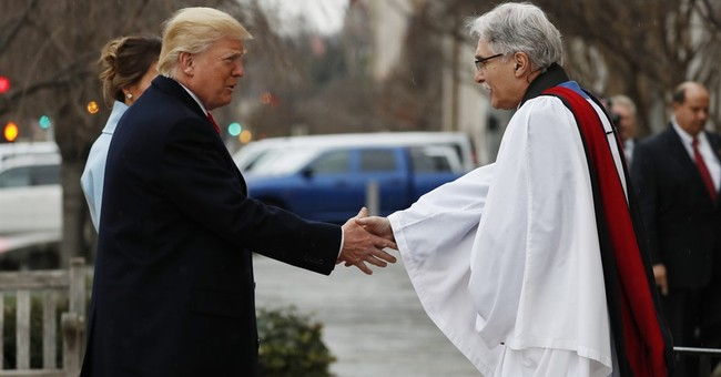 Trump Sets Record For Number of Prayer Services During Inaugural Ceremonies