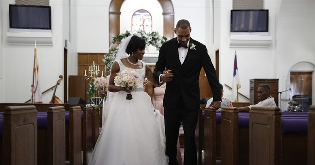 Marriage Collapse, White and Black