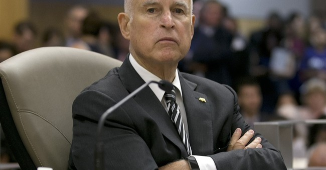 Gov. Brown Offers a Better 'Litmus Test' for Democrats