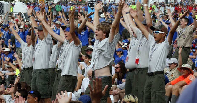 "Boy Scouts Told: Do Not Chant, ""Build That Wall"""