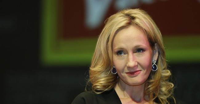 J.K. Rowling Apologizes--Sorta--For Saying Trump Snubbed a Disabled Child
