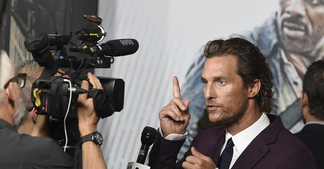 Matthew McConaughey Explains How Hollywood Reacted to His Call for Americans to Work with Trump