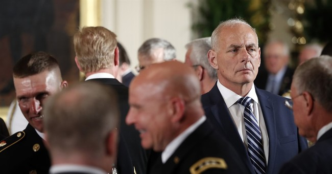 The President Picks His White House General -- Now Advance