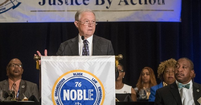 Sessions Addresses Black Law Enforcement Organization You Are 'Crucial Ambassadors&#39