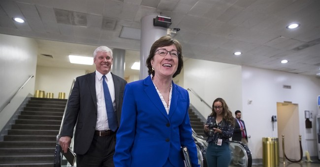 Uh-oh: Is Susan Collins in Trouble?