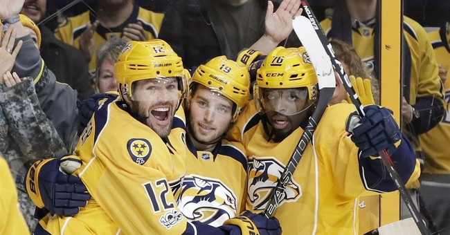 Nashville Predators Announce They'll Stand for the Anthem