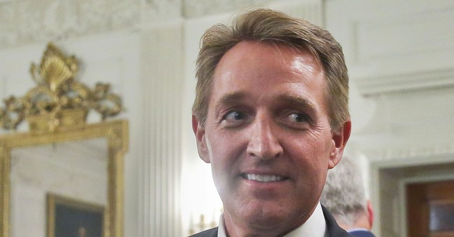"""You're Not a Conservative"": Flake Challenger Goes into Attack Mode"