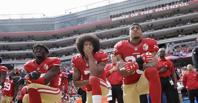Poll: 72 Percent See Kaepernick's National Anthem Antics As 'Unpatriotic'