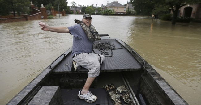Take a Look at These Incredible Pictures of Heroes in Houston