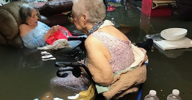 Happy Update: Everyone In Viral Nursing Home Picture During Hurricane Harvey is Safe Now