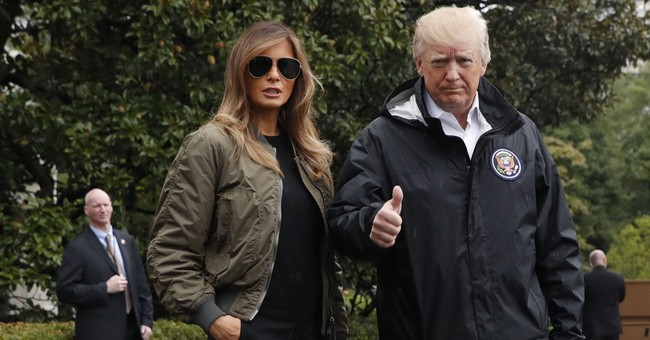 Melania Trump Trolled For 'Hurricane Heels.' #ShoeGate Has Twitter Divided