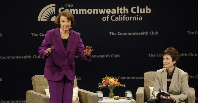 Feinstein Shocks San Francisco Crowd By Saying She Thinks Trump Can 'Be a Good President'