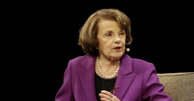 Feinstein, After Getting Booed: Here's a Reminder I Don't Like Trump