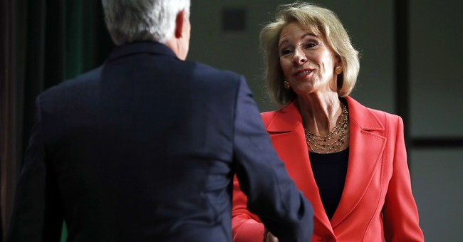 DeVos Wants to Right the Pendulum on Campus Sexual Assault