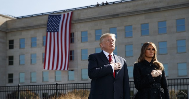 President Trump on 9/11: 'America can not be intimidated'