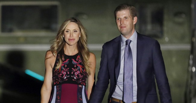 Eric and Lara Trump Welcome First Child