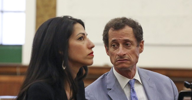 Huma Abedin Had Classified Information on Anthony Weiner's Computer and It Probably Got Hacked